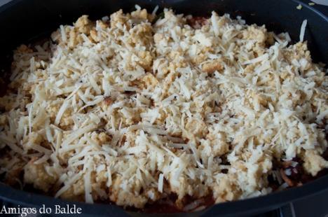 Chilli com carne e broa de milho